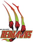 Milwaukee Redhawks Alternate Color Logo