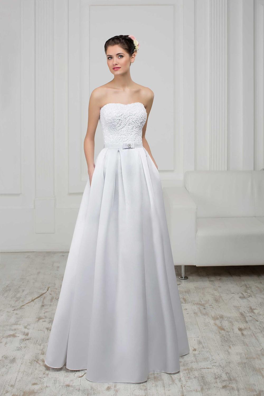 שמלת כלה עם כיסים