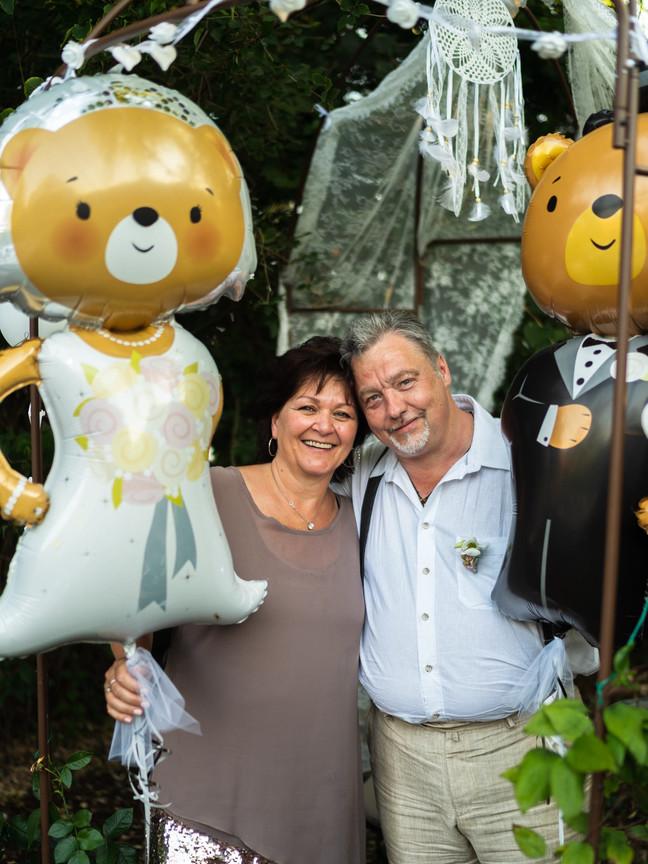 Hochzeitsfotos Günter und Renate