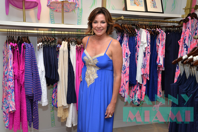 RHONY's Luann de Lesseps attends American Red Cross Event in Coral Gables
