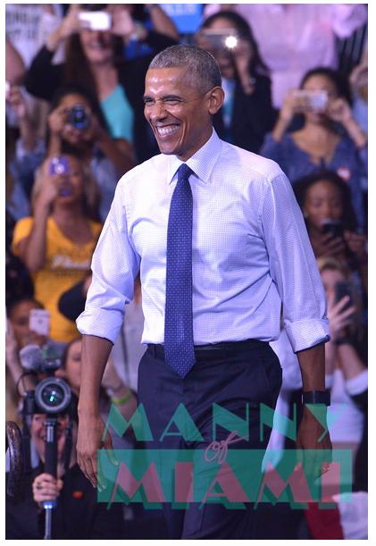 President Obama's Last Visit to Miami as President