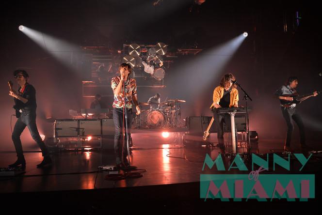 Phoenix Kicked Off 'Ti Amo' US Tour at the Fillmore Miami Beach