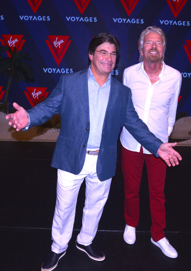 From Air to Sea: Virgin Voyages Makes Announcement at Faena Miami Beach
