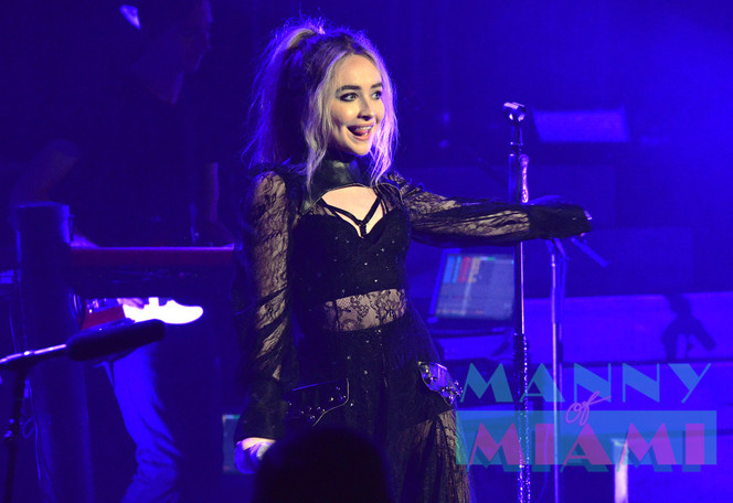 Disney Channel Star Sabrina Carpenter in Miami
