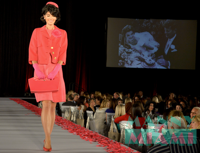 Chapman Luncheon and Fashion Show at the Marriot Marquis
