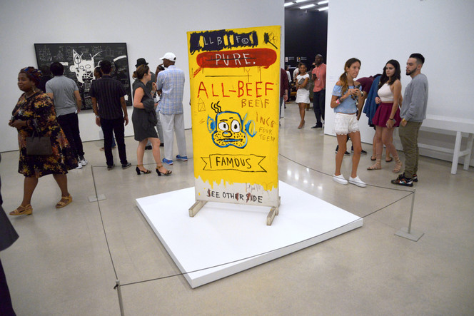 Basquiat: The Unknown Notebooks Exhibit Opening at the PAMM