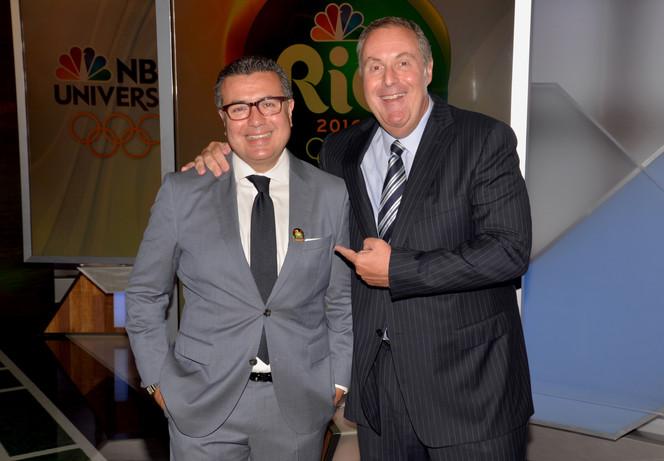 Comcast and NBC Universo Celebrate 'Road to Rio' Olympics at Telemundo Studios in Hialeah