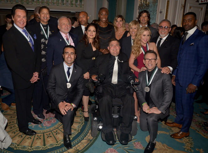 31st Annual Great Sports Legends Dinner in NYC