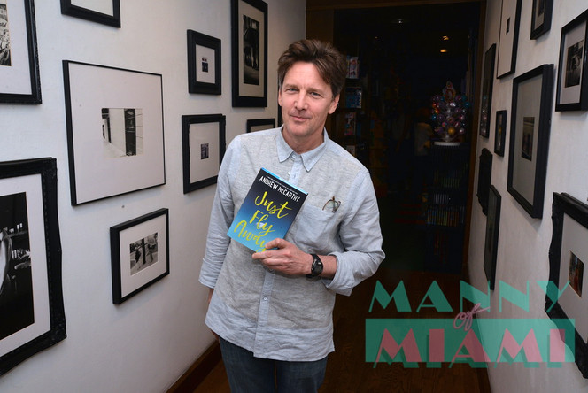 """Pretty in Pink's"" Andrew McCarthy Speaks at Books and Books"