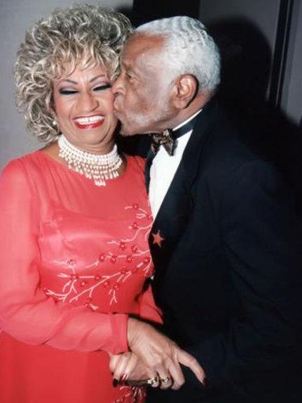 Celia Cruz & Pedro Knight 11X14