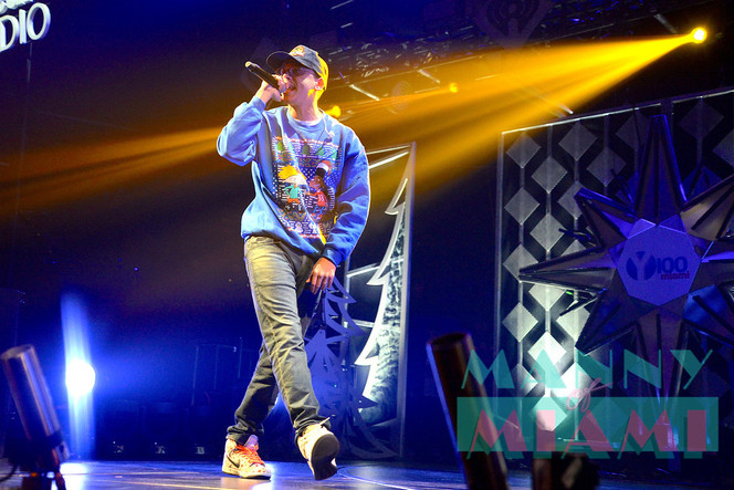 LOGIC steals the the show at Y100 Jingle Ball