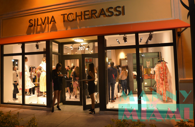 Silvia Tcherassi Boutique Grand Opening