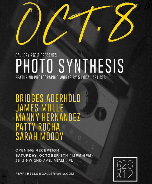 TONIGHT Come Check Out Photography Exhibit at Gallery 2612 in Wynwood