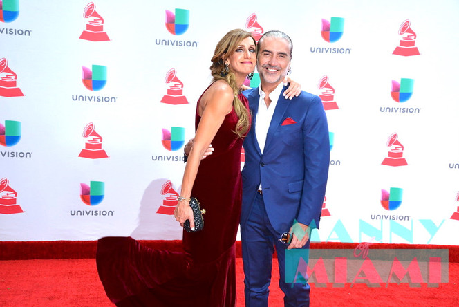 Manny of Miami at the 18th Latin Grammys in Vegas
