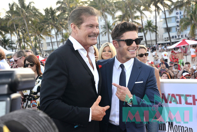 World Premeire of 'Baywatch' on Miami Beach