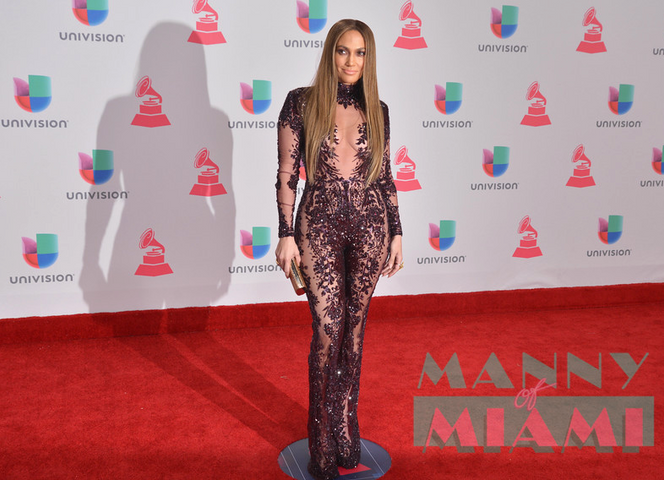 JLO and Marc Anthony the Talk at 17th Annual Latin Grammy Awards