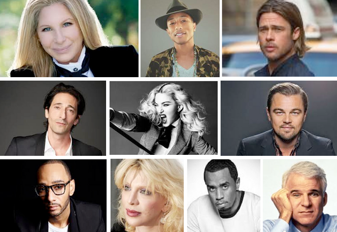 Celebrity Sighting During Miami Art Week
