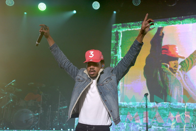 A Fan Takes a Chance with Chance the Rapper at the Fillmore Last Night