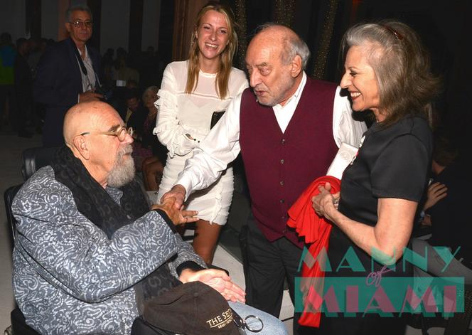 Reception in Honor of Italian Great Gaetano Pesce at Setai