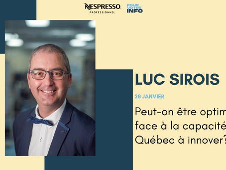 Peut-on être optimiste face à la capacité du Québec à innover?