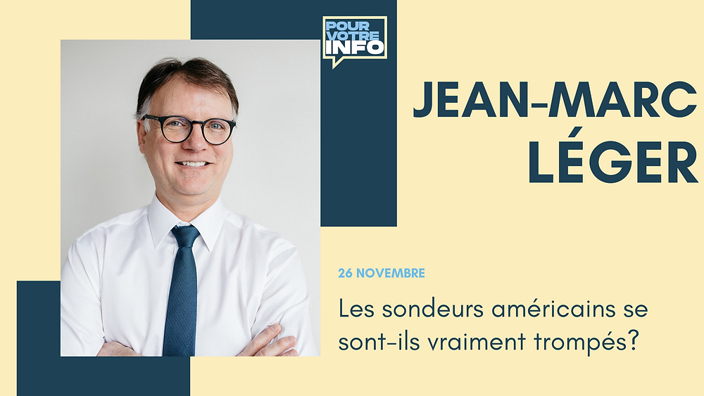 Jean-Marc Léger. Photo : Courtoisie Léger