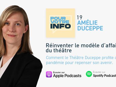 Réinventer le modèle d'affaires du théâtre