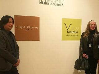 Inauguran exposiciones de Lenka Klobásová e Hiroyuki Okumura