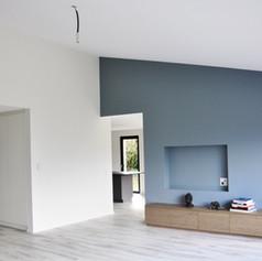 transformation d'une maison à Corsier (GE)