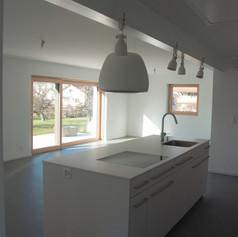 transformation d'une maison à Galmiz (FR)