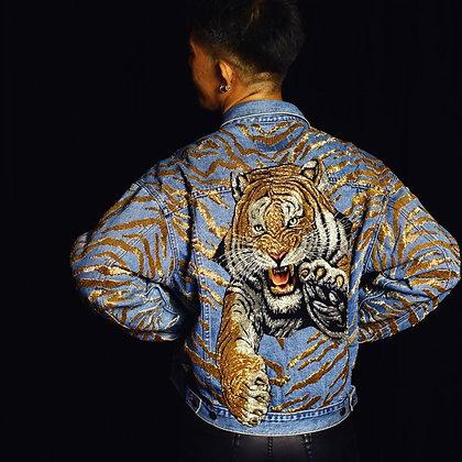 The Golden Thaiger-Man Denim Jacket