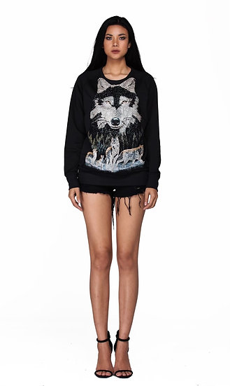 The Wolf Gangster Sweatshirt