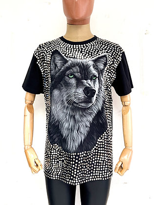 The Universe Wolf Tee