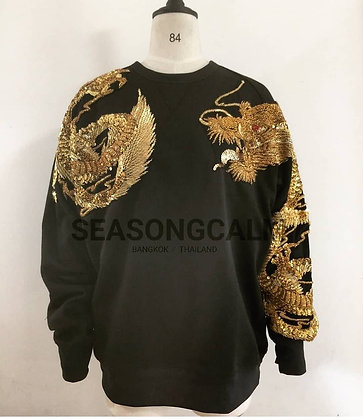 The Gloden Two Dragons Sweatshirt.