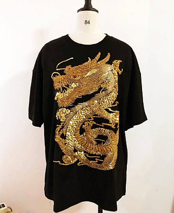 The Golden Two Dragons Tee