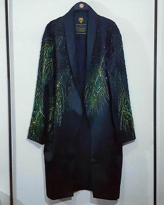 The Gradient Peacock Robe