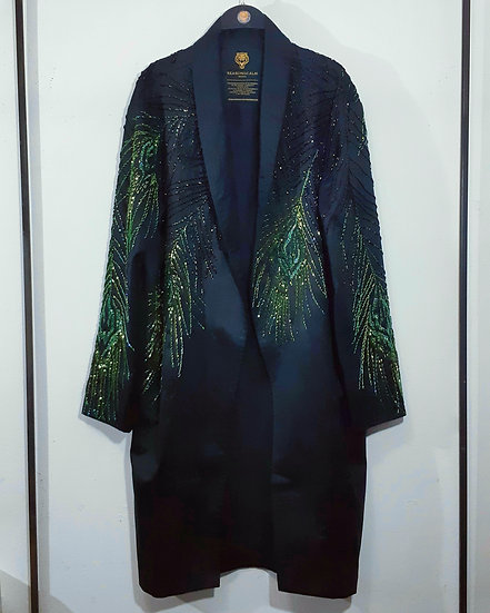 The Gradient Peacock Robe