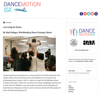 Dance Motion USA 2018