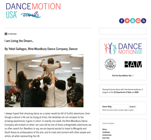 Dance Motion USA 2018