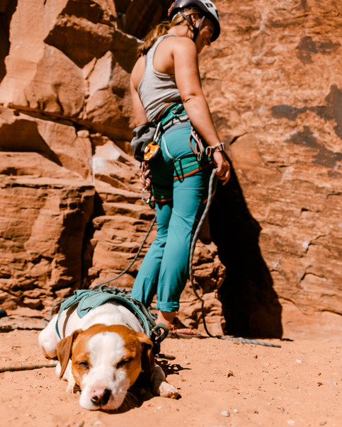 Emma Longcope and Tracker