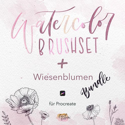 Wiesenblumen/Watercolor Bundle