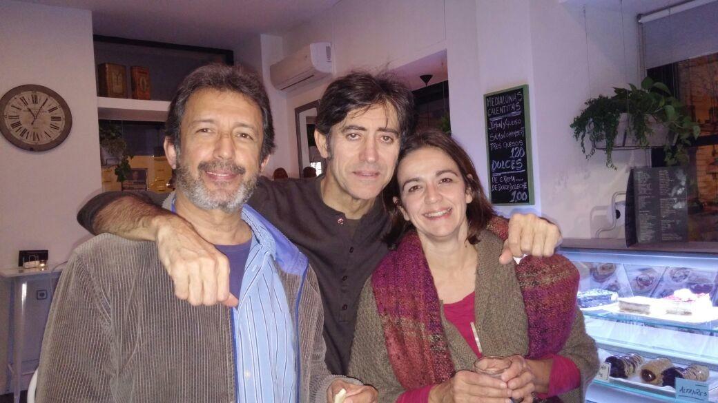 Jesus Peñas, Carlos Bernal y mua