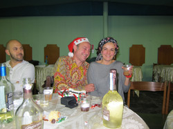 Con Ramon Merlo trabajando en circo.