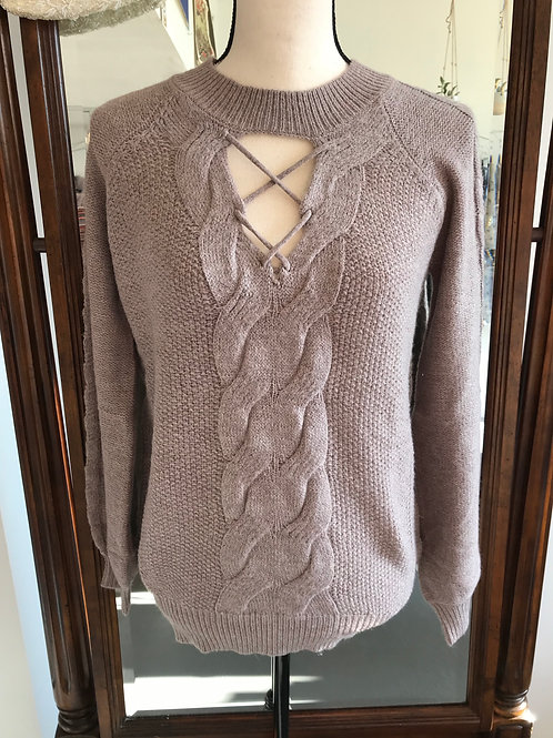 Hem & Thread Lilac Sweater