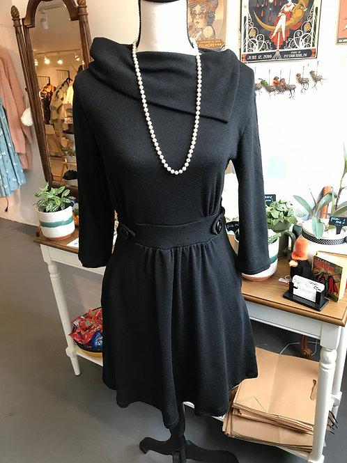 LA Soul Vintage Inspired Black Dress