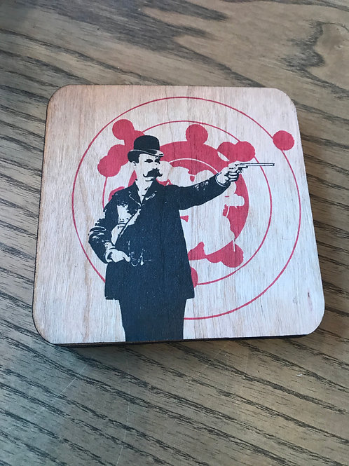 Old Timey Wood Coasters