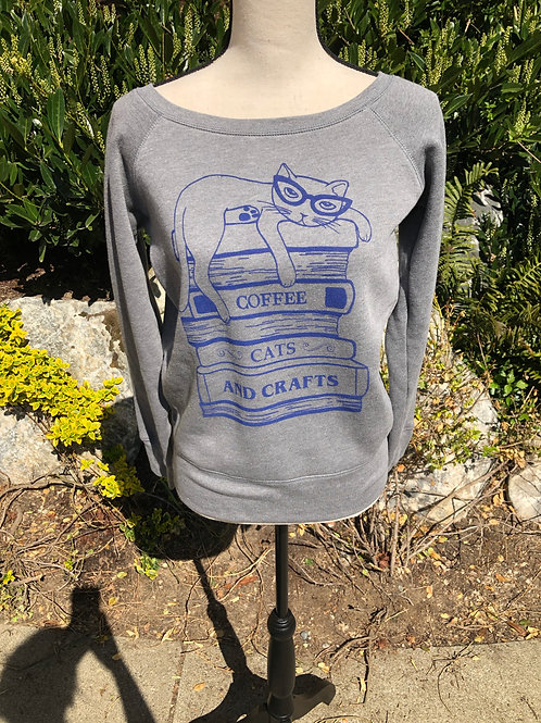 Revival Ink Coffee and Cats Sweatshirt