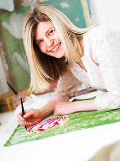 Freelance Textile Designer Georgie Harris