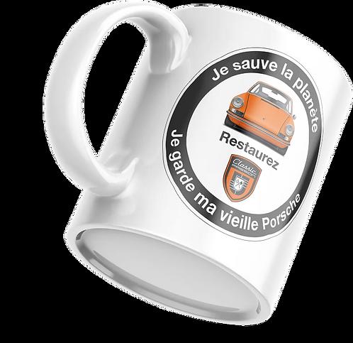 """Mug """"Je sauve la Planète"""" (gris)"""