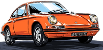Porsche Classic 911 Orange