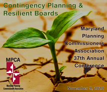 VPC Presents at 2020 Maryland Planning Commissioners Association Conference